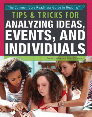 Tips   Tricks for Analyzing Ideas  Events  and Individuals PDF