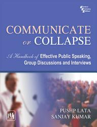 Communicate Or Collapse Book PDF