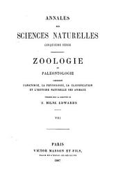 Annales des sciences naturelles: Volume 8