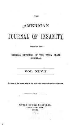 The American Journal of Insanity PDF