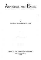 Asphodels and Pansies PDF