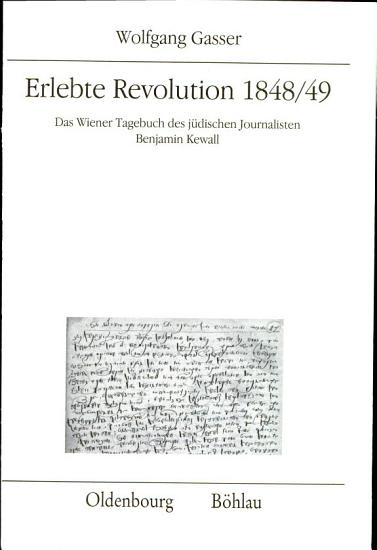 Erlebte Revolution 1848 49 PDF