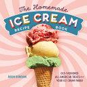 Ice Cream Recipe Book