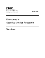Directions in Security Metrics Research PDF
