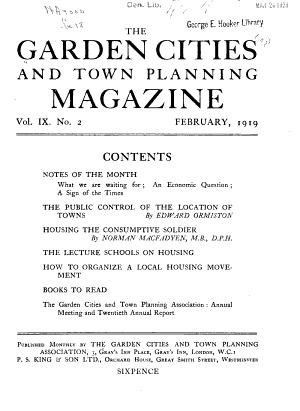 Garden Cities   Town Planning