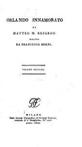 Orlando Innamorato: Volume 2