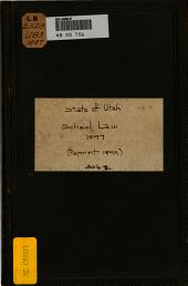School Law, 1897: (Reprint 1899)