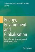 Energy  Environment and Globalization PDF