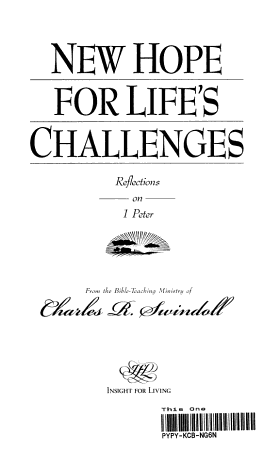 New Hope for Life s Challenges PDF