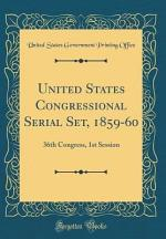United States Congressional Serial Set, 1859-60