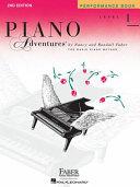 Piano Adventures  Level 1  Performance Book