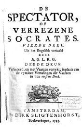 De spectator of Verrezene Socrates: Volume 4