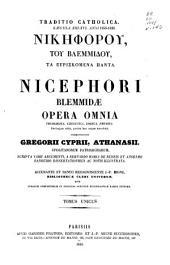 Patrologiae cursus completus ...: Series graeca, Τόμος 142