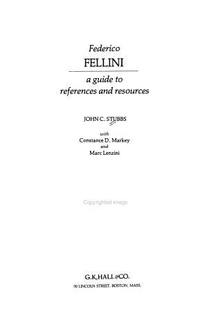 Federico Fellini PDF