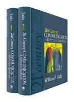 21st Century Communication  A Reference Handbook PDF