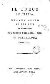 Il Turco in Italia: dramma buffo in due atti