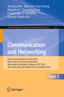 Communication and Networking