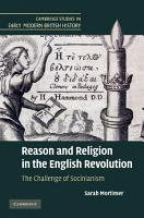Reason and Religion in the English Revolution PDF