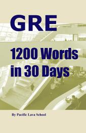 GRE 1200 Words in 30 Days