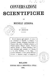 Conversazioni scientifiche 2. serie di Michele Lessona