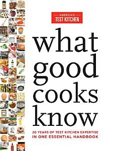 What Good Cooks Know Book