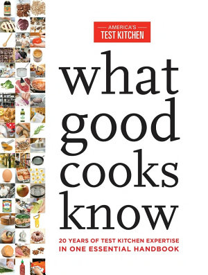 What Good Cooks Know PDF