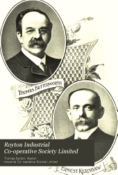 Royton Industrial Co-operative Society Limited: History of the Society's Formation and Progress, 1857-1907