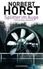 Splitter im Auge: Kriminalroman - Ein Steiger-Krimi 1 -
