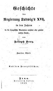 Geschichte der Regierung Ludwig XVI.