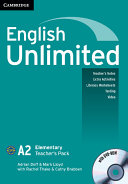 English Unlimited Elementary A and B Teacher's Pack (Teacher's Book with DVD-ROM)