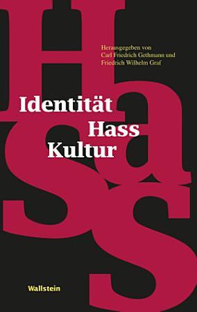 Identit  t   Hass   Kultur PDF