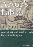 Aesop s Fables in Latin PDF