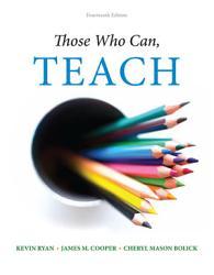Those Who Can Teach Book PDF