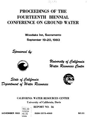Proceedings of the Fourteenth Biennial Conference on Ground Water PDF