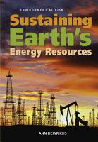 Sustaining Earth s Energy Resources PDF