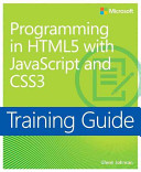 Programming in HTML with JavaScript and CSS3