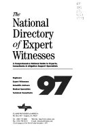 The National Directory of Expert Witnesses PDF