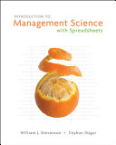 Introduction to Management Science with Spreadsheets Book