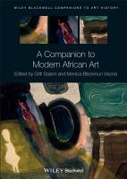 A Companion to Modern African Art PDF