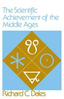 The Scientific Achievement of the Middle Ages PDF