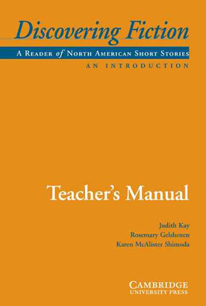 Discovering Fiction, An Introduction Teacher's Manual