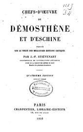 Chefs-d'oeuvre de Démosthène et d'Eschine