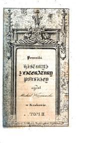 Pomniki historyi j literatury polskiey: Tom 2
