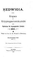 Hedwigia PDF