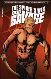 Doc Savage: The Spider's Web #4