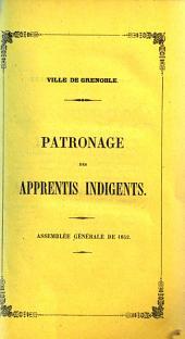 Assemblée générale de ...: 1852