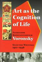 Art as the Cognition of Life PDF