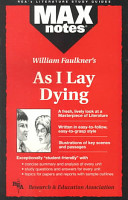 William Faulkner s As I Lay Dying PDF