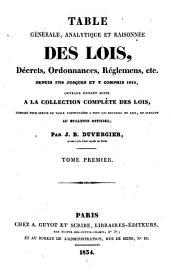 Collection complète des lois, décrets d'intérêt général, traités internationaux, arrêtés, circulaires, instructions, etc: Volume81
