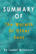 Summary Of The Warmth Of Other Suns
